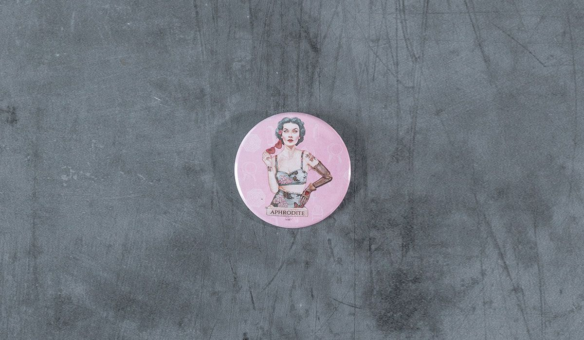 Aphrodite Pin - The 'Wise Reinvented' Series