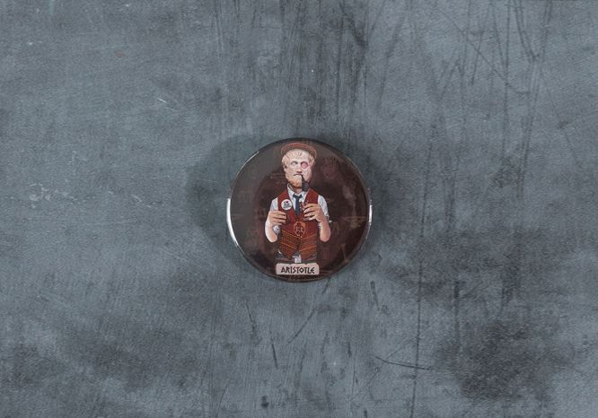 Aristotle Magnet/Bottle Opener - The 'Wise Reinvented' Series