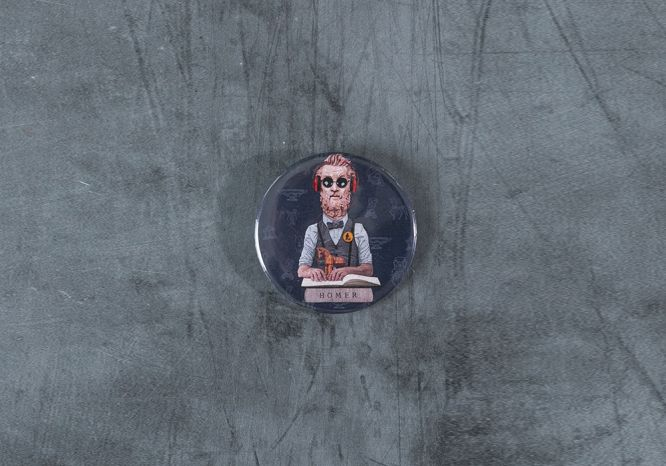 Homer Pin - The 'Wise Reinvented' Series